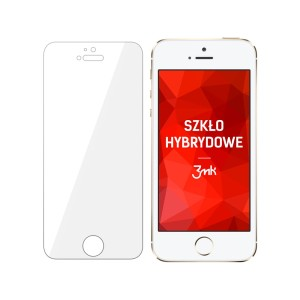 Apple iPhone 5 - Nietłukące szkło hybrydowe 3mk FlexibleGlass