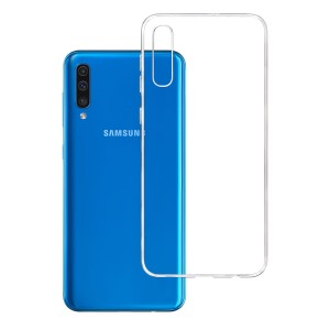 Etui do Samsung Galaxy A50, absorbujące uderzenia 3mk Clear Case