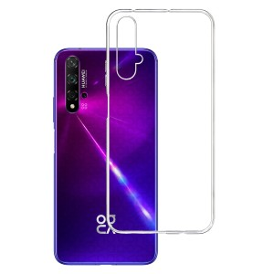 Etui do Huawei Nova 5T, absorbujące uderzenia 3mk Clear Case