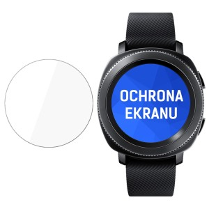 Ochrona na ekran smartwatcha Samsung Gear Sport, 3mk Watch Protection