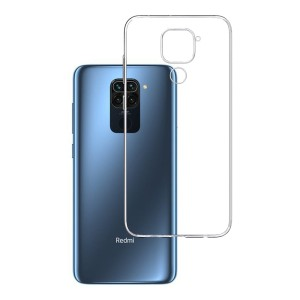 Etui do Xiaomi Redmi Note 9, absorbujące uderzenia 3mk Clear Case
