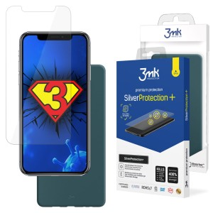 ZESTAW do iPhone X / XS, folia 3mk SilverProtection+ i etui 3mk Matt Case Lovage
