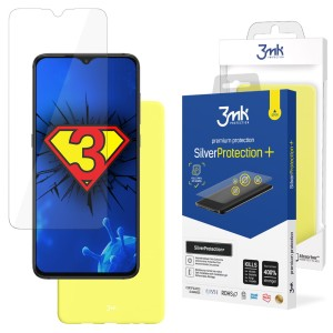 ZESTAW do Xiaomi Redmi 9A, folia 3mk SilverProtection+ i etui 3mk Matt Case Lime