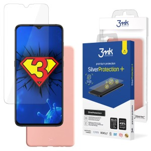ZESTAW do Xiaomi Redmi 9A, folia 3mk SilverProtection+ i etui 3mk Matt Case Lychee