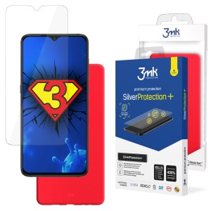 ZESTAW do Xiaomi Redmi 9A, folia 3mk SilverProtection+ i etui 3mk Matt Case Strawberry