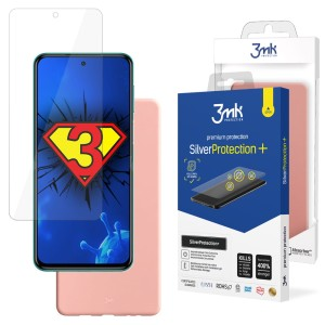 ZESTAW do Xiaomi Redmi Note 9 Pro Max, folia 3mk SilverProtection+ i etui 3mk Matt Case Lychee