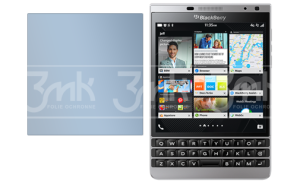 BlackBerry Passport Silver Edition - Nietłukące szkło hybrydowe 3mk FlexibleGlass