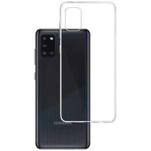 Etui do Samsung Galaxy A31, absorbujące uderzenia 3mk Clear Case