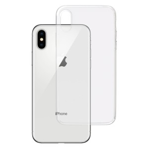 Apple iPhone X - Etui amortyzujące uderzenia 3mk Clear Case