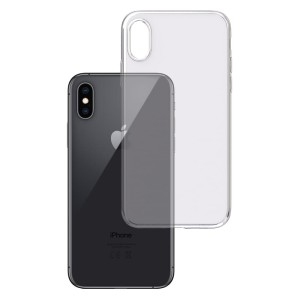 Apple iPhone XS - Etui amortyzujące uderzenia 3mk Clear Case